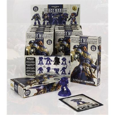 Warhammer 40,000 Space Marine Heroes Collectible Display