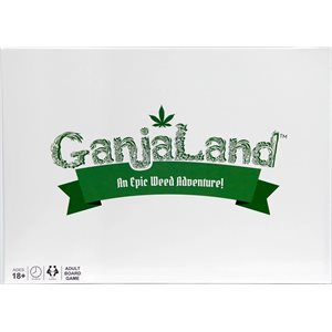 Ganjaland: An Epic Weed Adventure! (No Amazon Sales) ^ AUG 1 2019