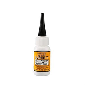 Hst7 Hot Stuff Super T Glue 1 Oz