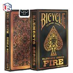 Bicycle Element Fire Playing Cards
