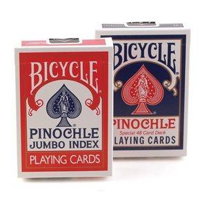 Bicycle Pinochle Jumbo Index