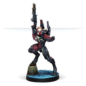 Infinity: Combined Army: Shasvastii Cadmus (Hacker)