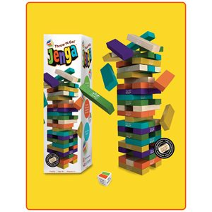 Jenga Throw N Go (No Amazon Sales)