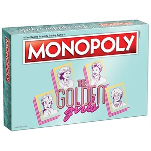 Monopoly: The Golden Girls (No Amazon Sales)