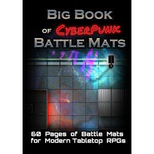 Big Book of CyberPunk Battle Mats (No Amazon Sales)