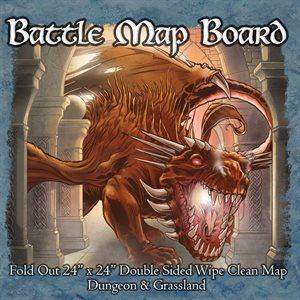 Battle Mat Board Dungeon and Grassland (No Amazon Sales)