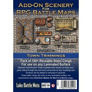 Add On Scenery Town Trimmings (No Amazon Sales)