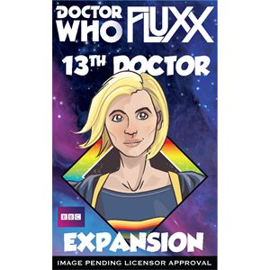 13th Doctor (Doctor Who Fluxx Expansion) (no amazon sales)^ Q4 2019