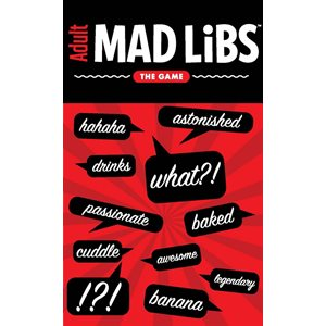 Adult Mad Libs The Game (no amazon sales)