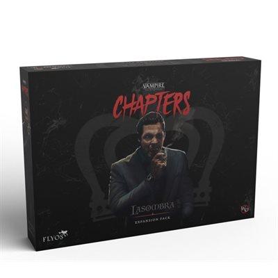 Vampire the Masquerade: Chapters: Lasombra The Survivor (No Amazon Sales) ^ JUNE 2022