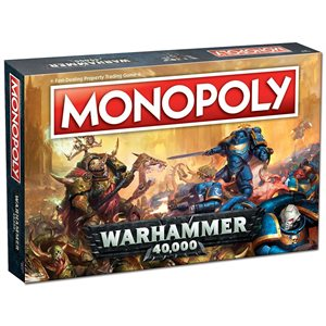 Monopoly: Warhammer 40,000 (No Amazon Sales)