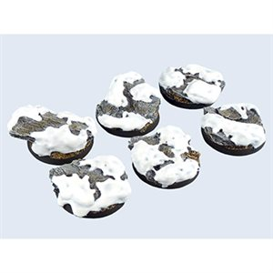 Bases: Winter Shale, Round 40mm (2)