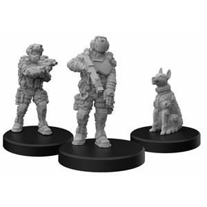 Cyberpunk Red Miniatures: Lawmen B (Enforcers) (No Amazon Sales)