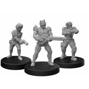 Cyberpunk Red Miniatures: Trauma Team B (No Amazon Sales)