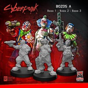 Cyberpunk Red Miniatures: Bozos A (No Amazon Sales) ^ SEPT 2021