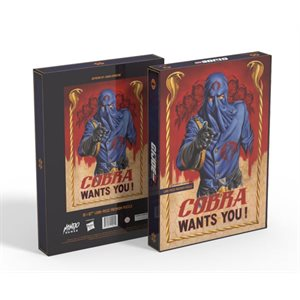 Puzzle: 1000 G.I. Joe Cobra Wants You! ^ MAY 6 2020