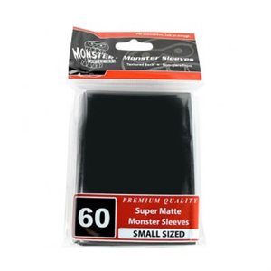 Sleeves: Yugioh Monster Matte Black
