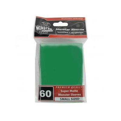 Sleeves: Yugioh Monster Matte Green