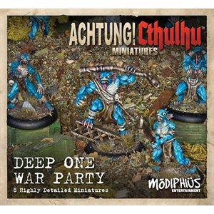Achtung! Cthulhu Miniature Game: Cthulhu - Deep Ones War Party Unit Pack (8)