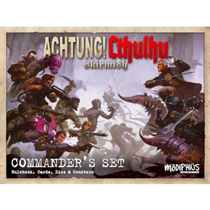 Achtung! Cthulhu Miniature Game: Skirmish Commander's Set (Starter Set)