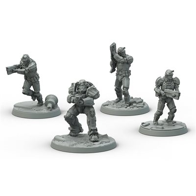 Fallout: Wasteland Warfare: Brotherhood of Steel Frontline Knights