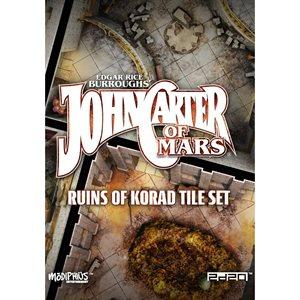 John Carter of Mars: Ruins of Korad Tile Set ^ Jul 2019