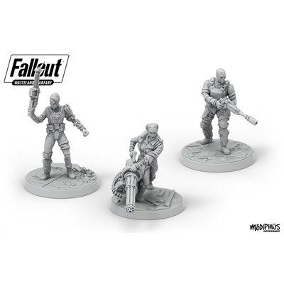 Fallout: Wasteland Warfare: Ack Ack, Sinjin & Avery