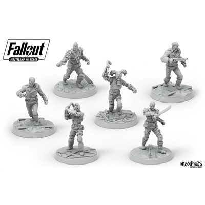 Fallout: Wasteland Warfare: Raiders, Scavvers & Psychos ^ August 2019