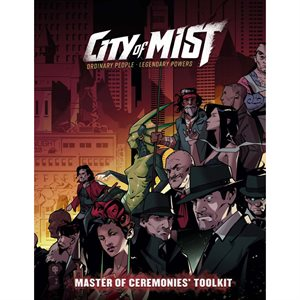 City of Mist RPG: Master of Ceremonies GM Toolkit (BOOK)