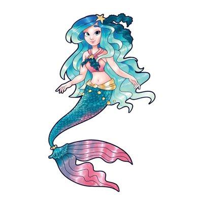 Mermaid Interactive Wall Decal