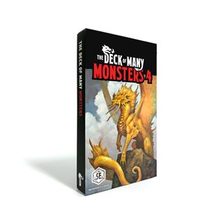 The Deck Of Many: Monsters 4 (No Amazon Sales)