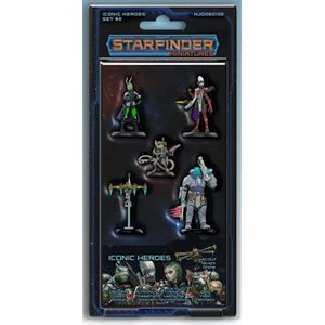 Starfinder Minis: Iconic Heroes Set #2