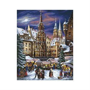 Paint by Numbers: Nuremberg Christmas (Multi)