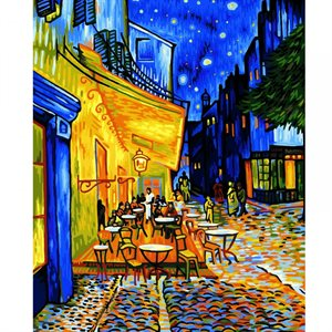 Paint by Numbers: Nocturnal Café (Multi)