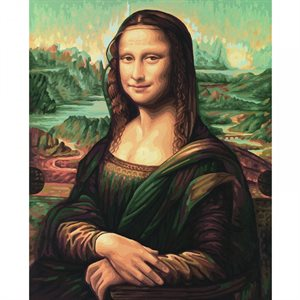 Paint by Numbers: Mona Lisa (Multi)