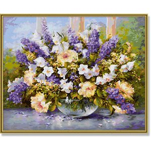 Paint by Numbers: Summer Flowers (Multi)