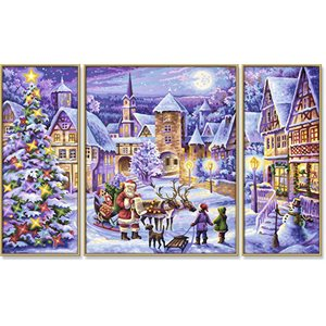 Paint by Numbers: White Christmas
