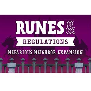 Runes & Regulations: Nefarious Neighbour (No Amazon Sales) ^ Q4 2019