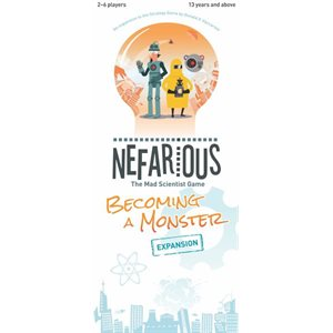 Nefarious: Becoming a Monster (No Amazon Sales)