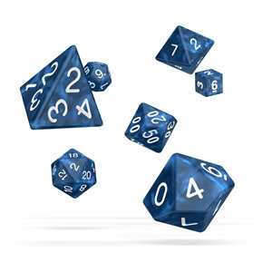 Marble: Blue 7pc RPG Set