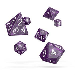Marble: Purple 7pc RPG Set