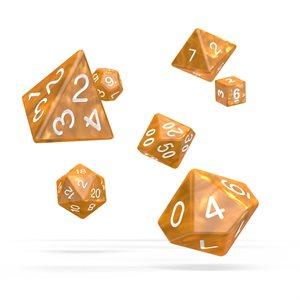 Marble: Orange 7pc RPG Set