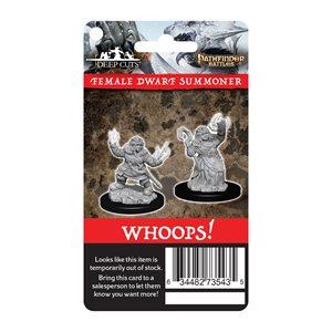 Pathfinder Battles / Wizkids Deep Cuts Miniatures: Wave 7: Retailer Reorder Cards