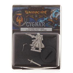 Cygnar: Gun Mage Captain Adept