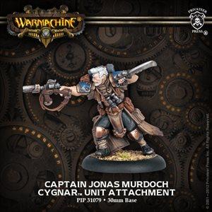 Cygnar: Captain Jonas Murdoch