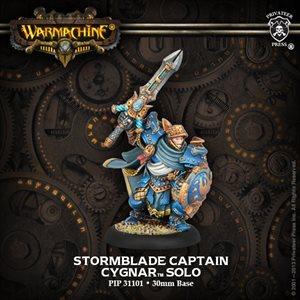 Cygnar: Stormblade Infantry Captain