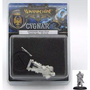 Cygnar: Commander Anson Hitch: Solo (Metal)