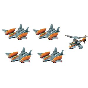 Monsterpocalypse: Protector G.U.A.R.D. Unit - Strike Fighters & Rocket Chopper (Resin)