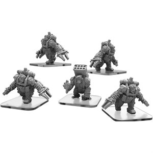 Monsterpocalypse: Protector Assault & Rocket Apes (metal)