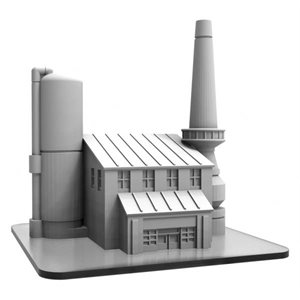Monsterpocalypse: Terrain Industrial Complex (Resin)